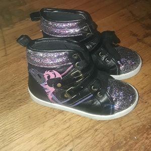 Disney Descendants glittery sneakers